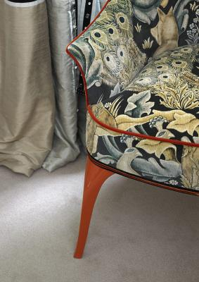 SHARON for MARI IANIQ small armchair detail